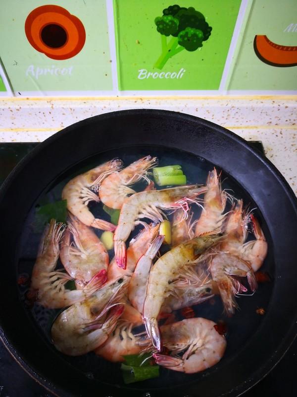 水煮基围虾的简单做法