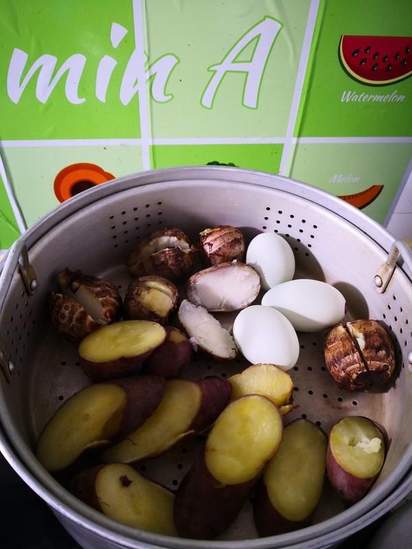 清蒸芋头红薯的简单做法
