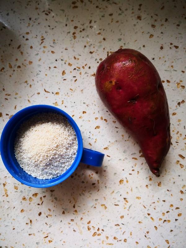 白小米枸杞红薯粥的做法大全