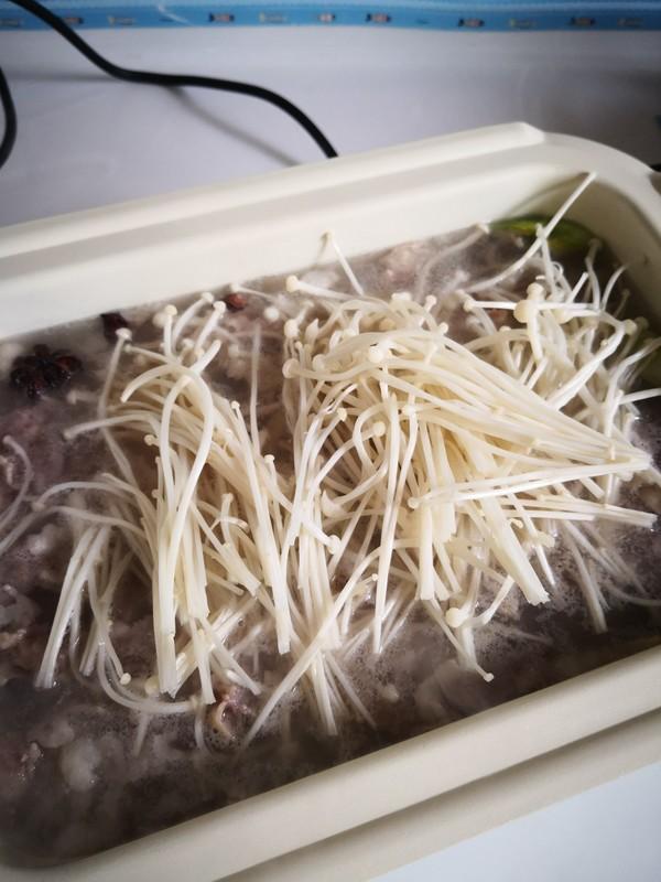 菠菜粉丝羊肉片怎么做