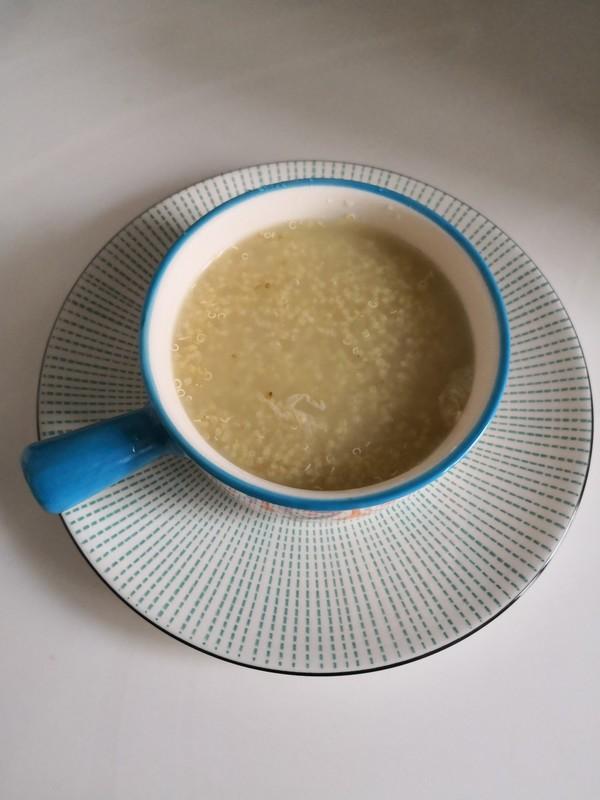 藜麦海参粥成品图