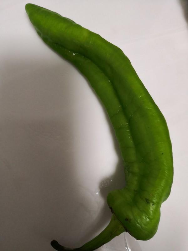 青椒拌鬼子姜的做法图解