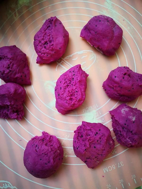 火龙果小方饼的简单做法