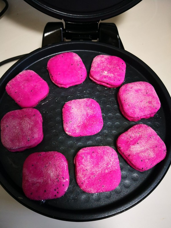 火龙果小方饼怎么做