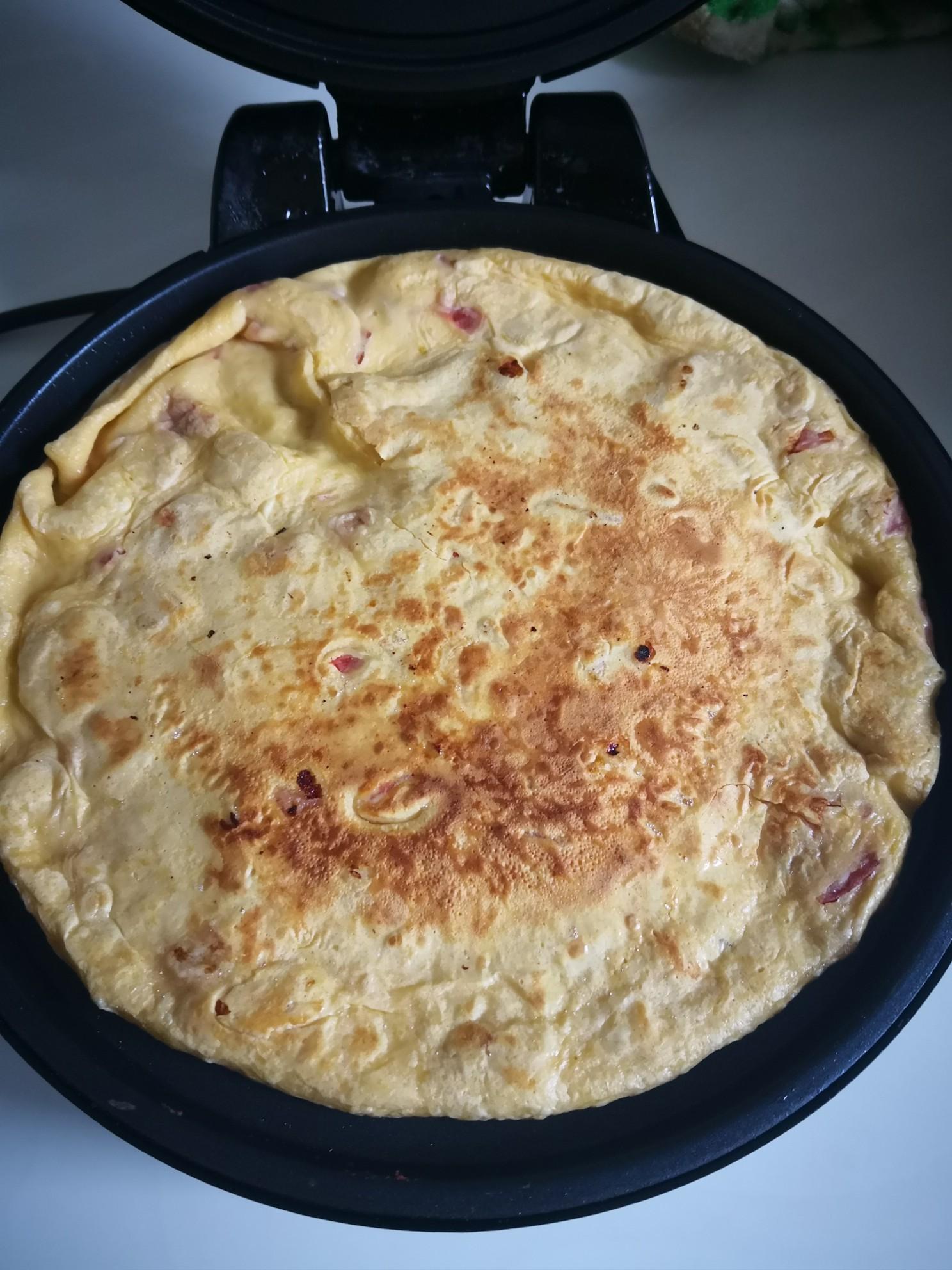 番茄鸡蛋饼怎么炒