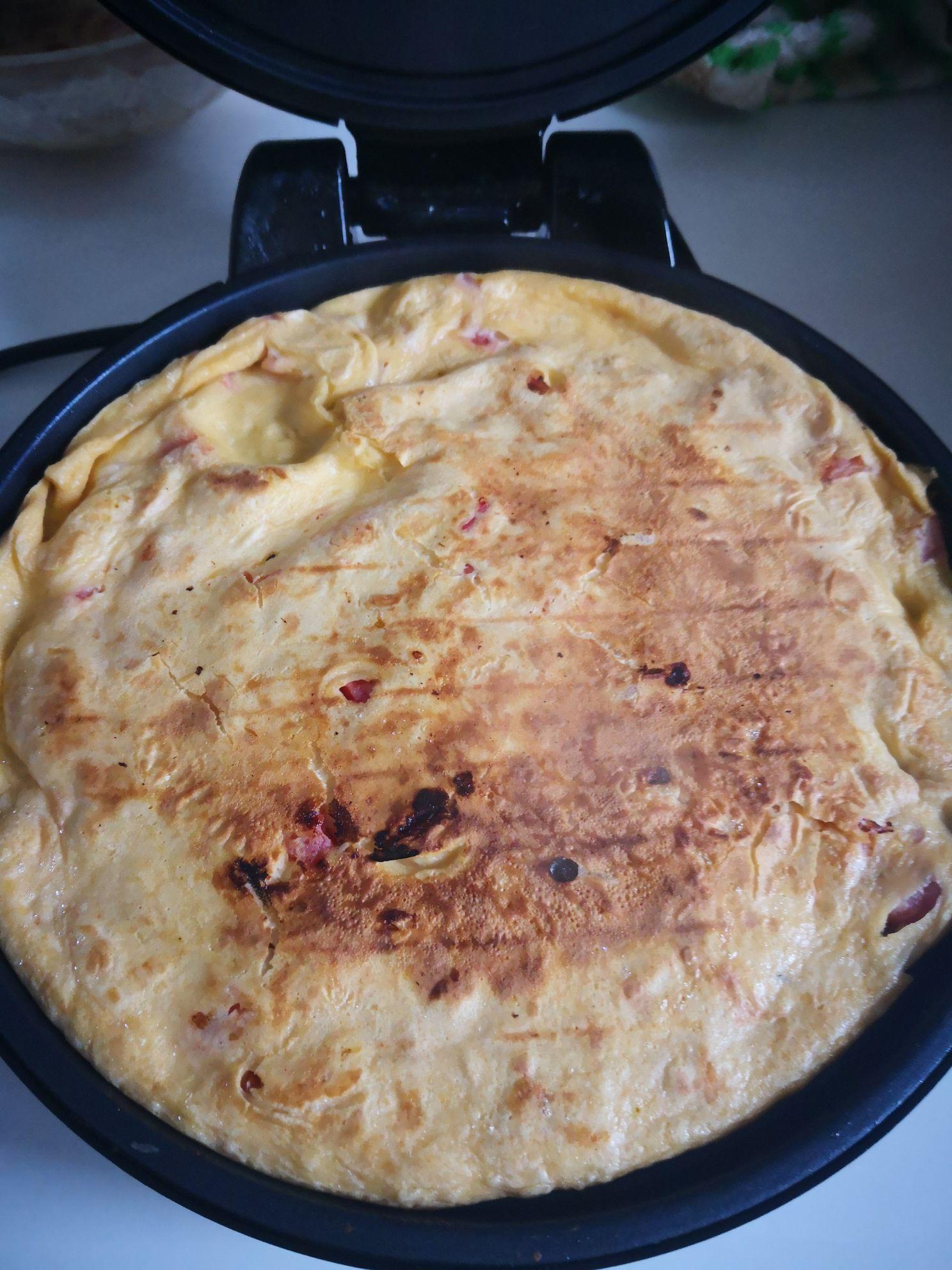 番茄鸡蛋饼怎么煮