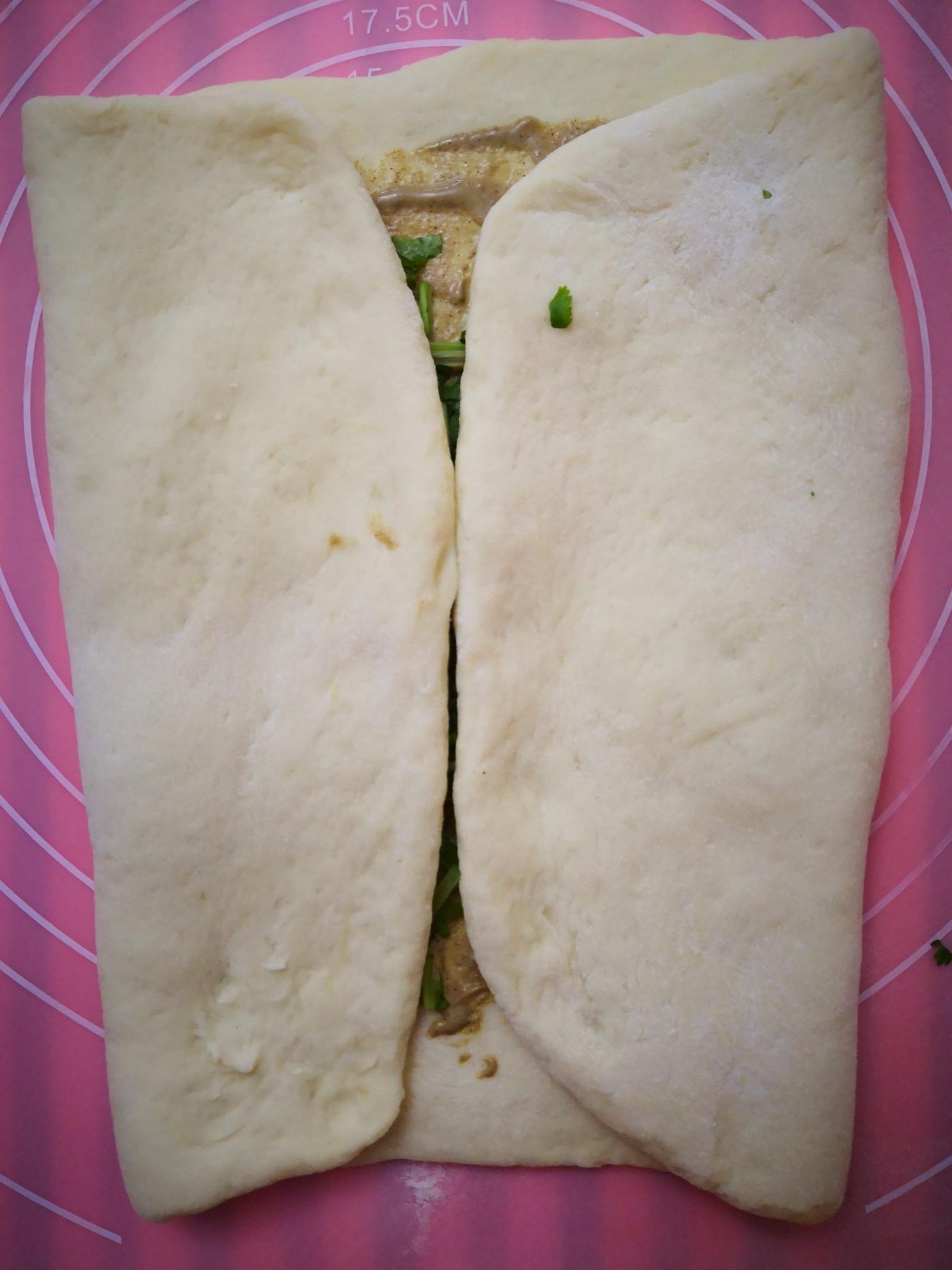 芝麻酱香菜饼怎么做