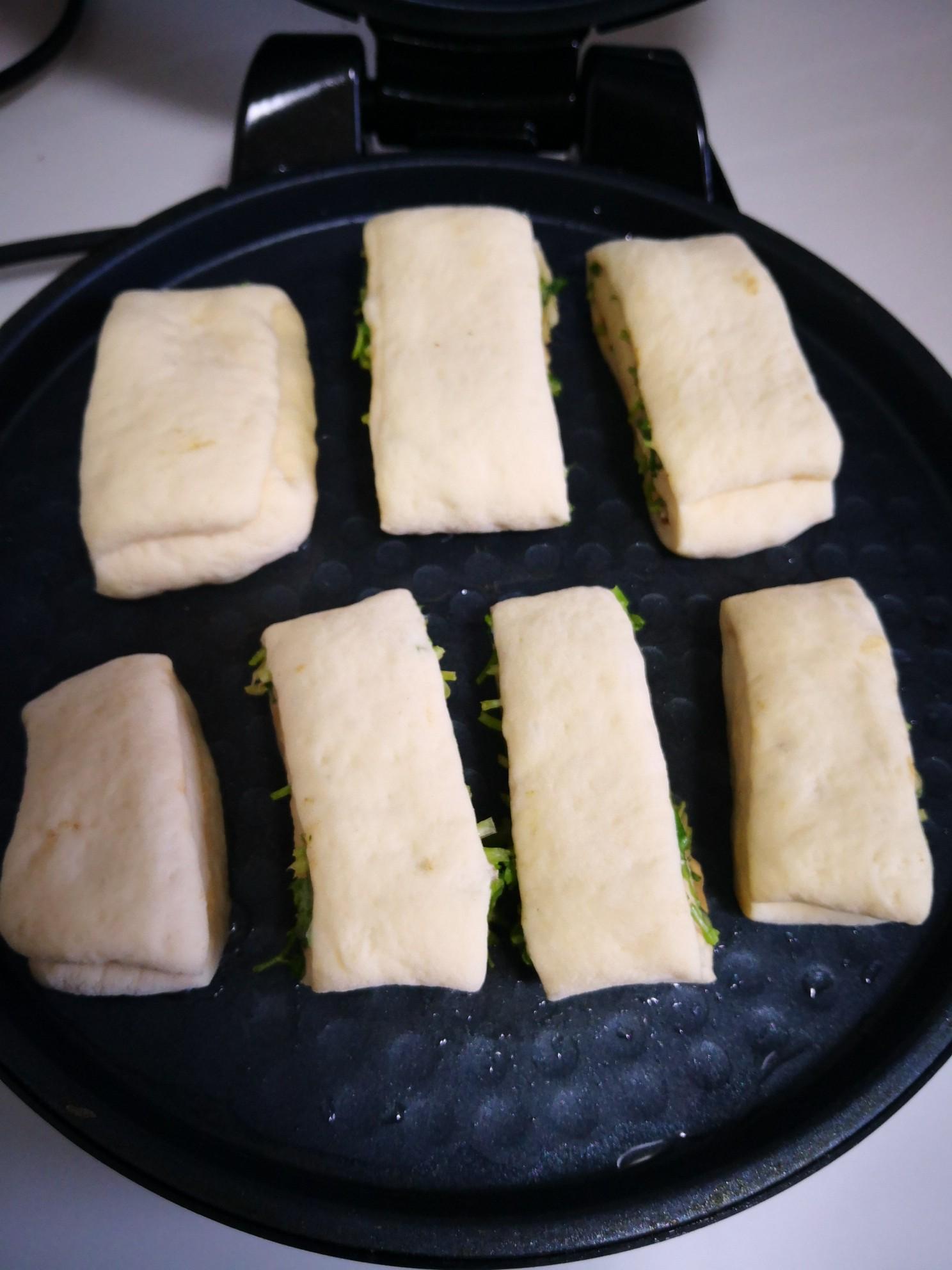 芝麻酱香菜饼怎么煮