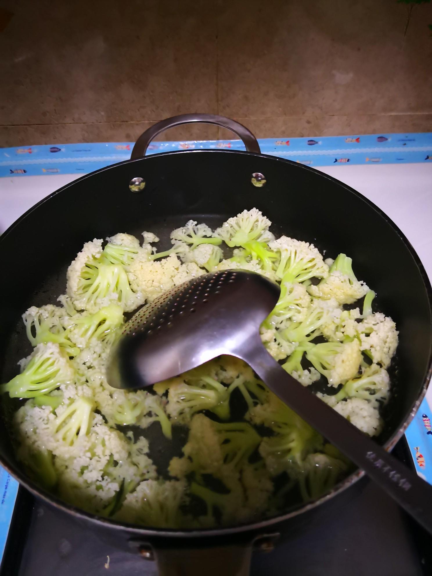 肉丝炒有机菜花的做法大全
