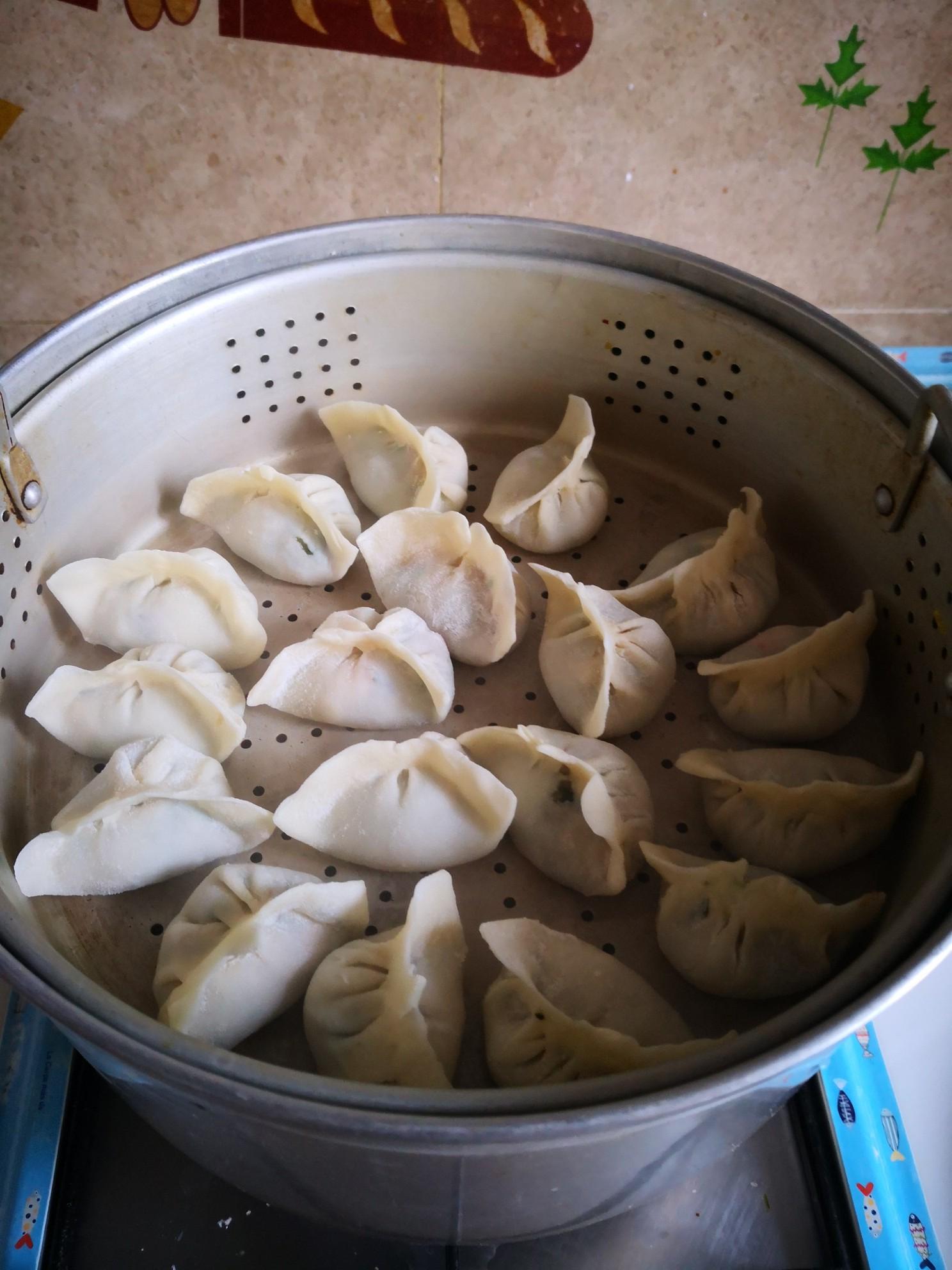 油菜蒸饺怎么炒