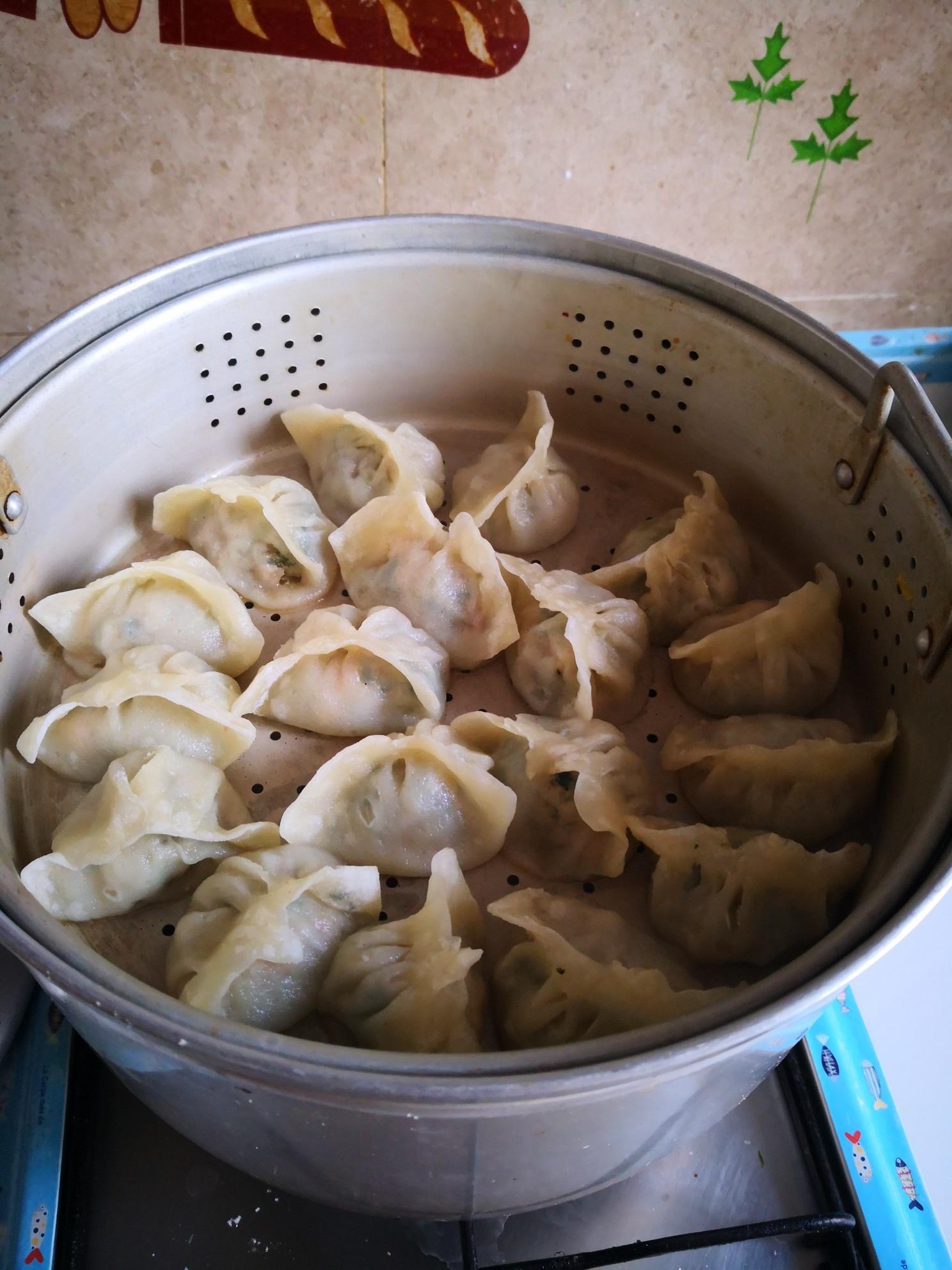 油菜蒸饺怎么煮