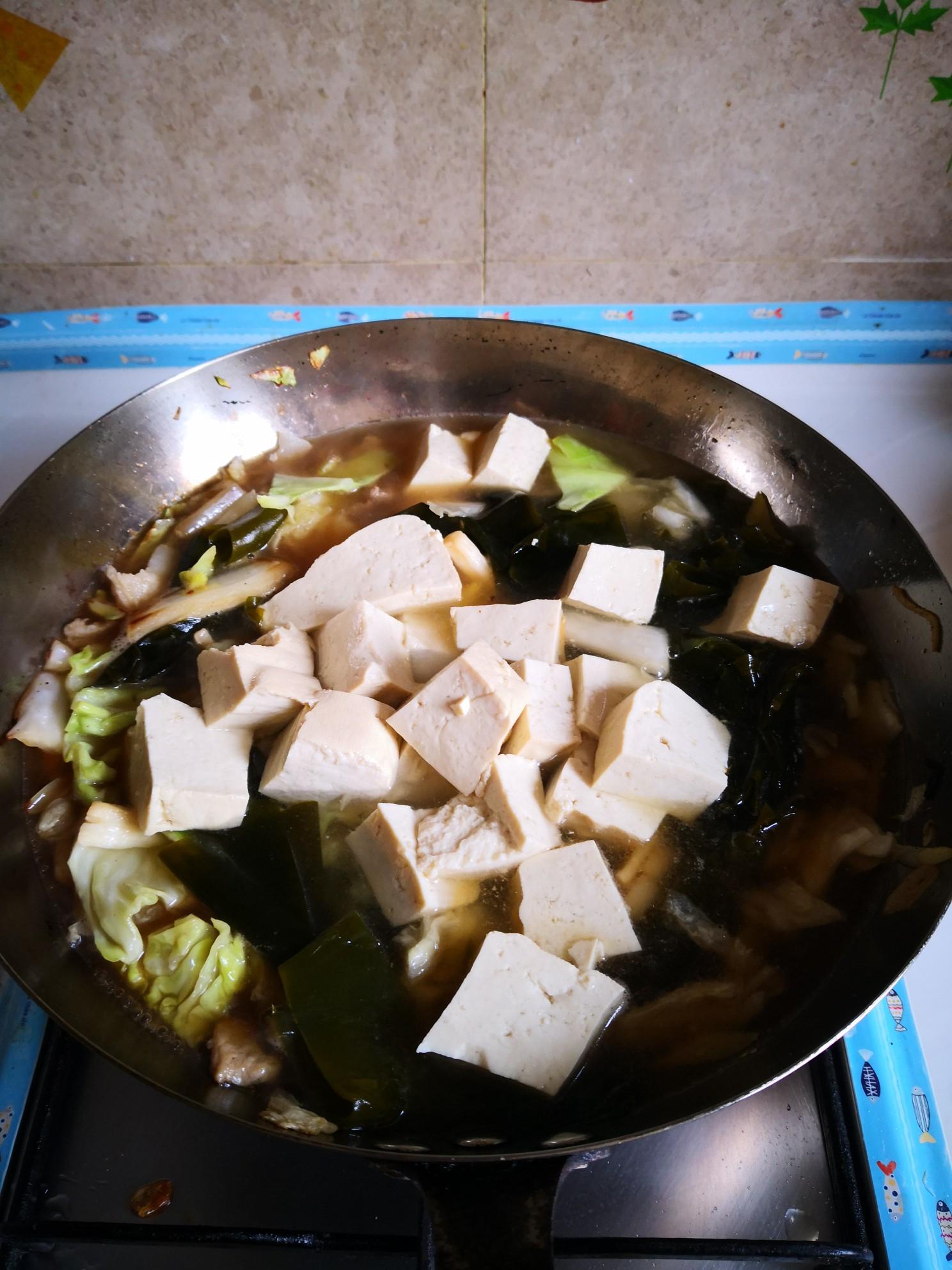 海带炖豆腐怎么煮