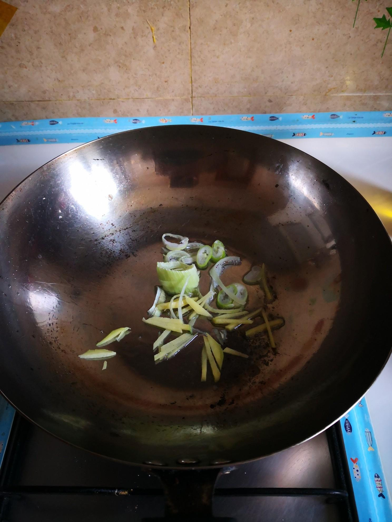 角瓜炒鸡蛋的简单做法
