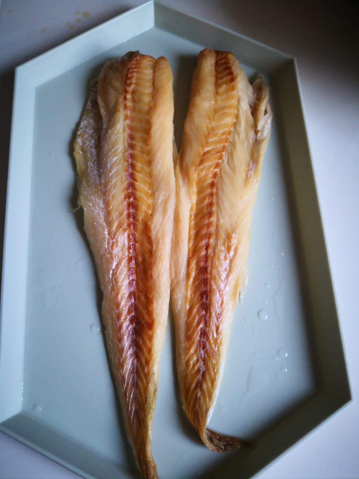 凉拌明太鱼干的做法图解