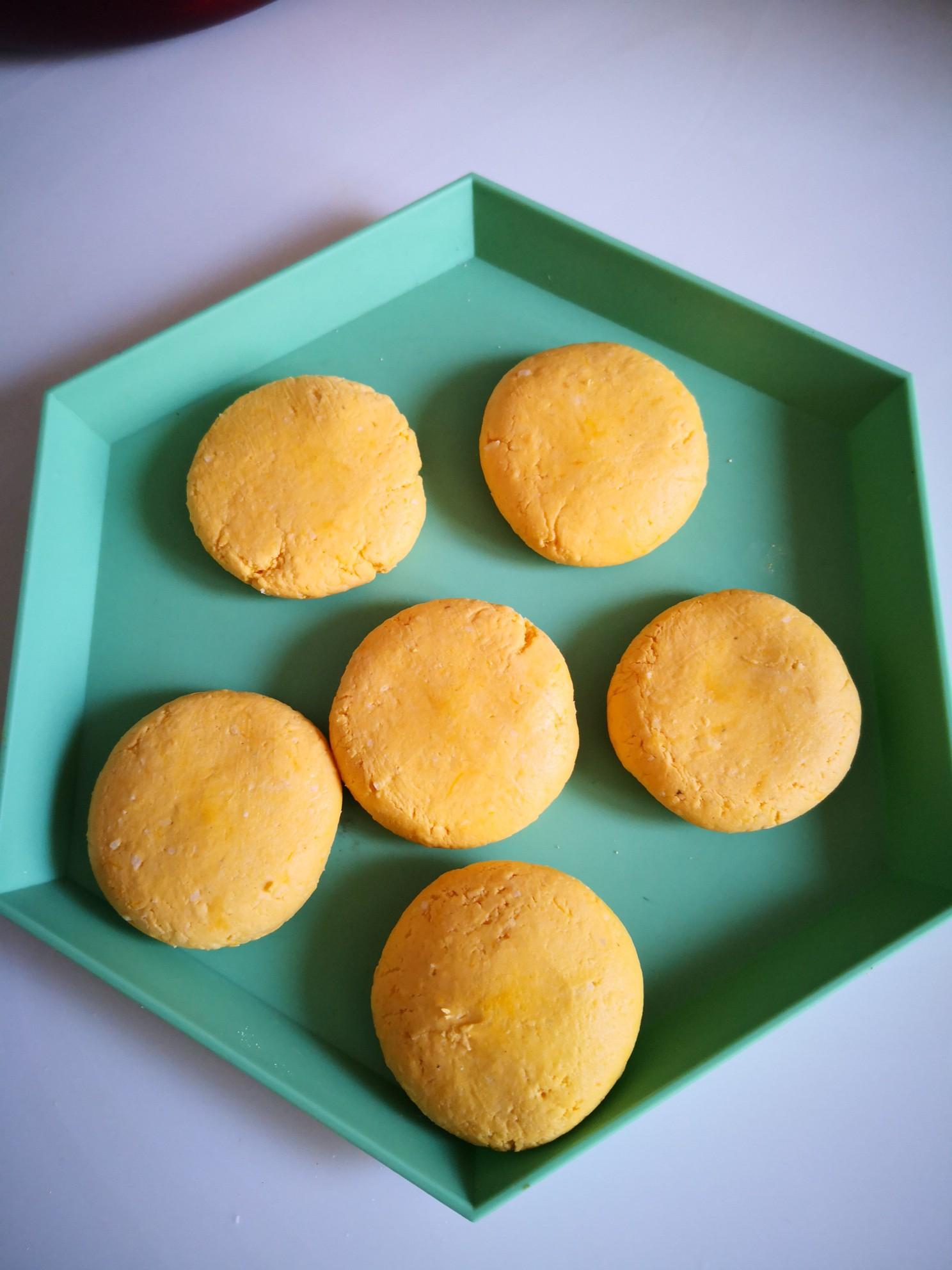 芝麻椰蓉南瓜饼怎么做