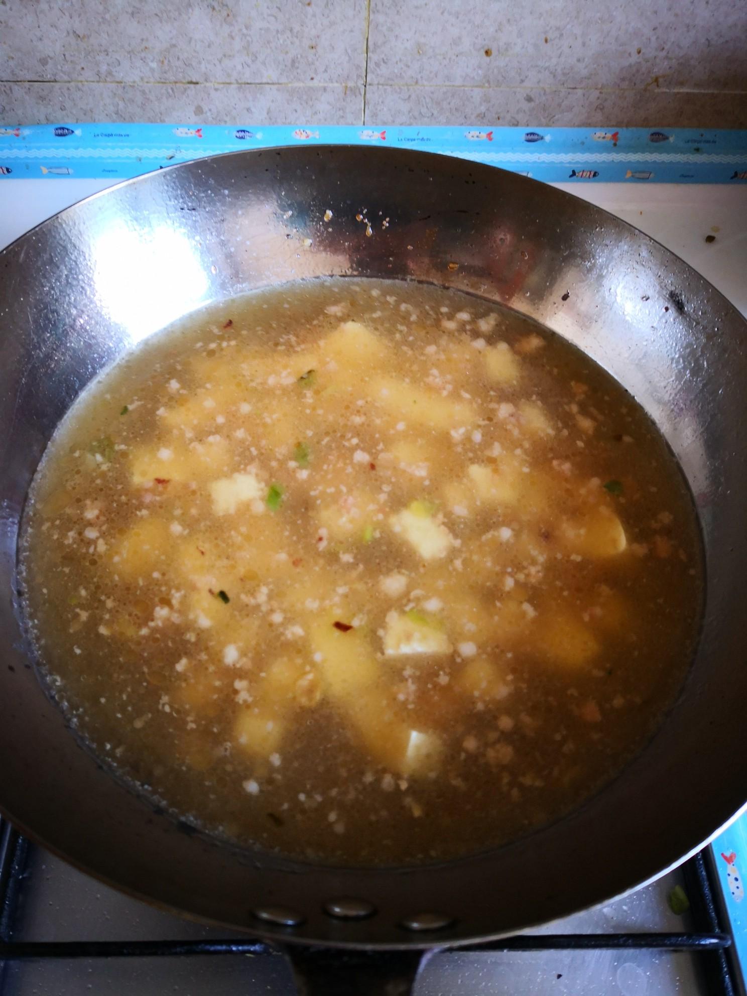 豆腐鸡蛋汤怎么炒