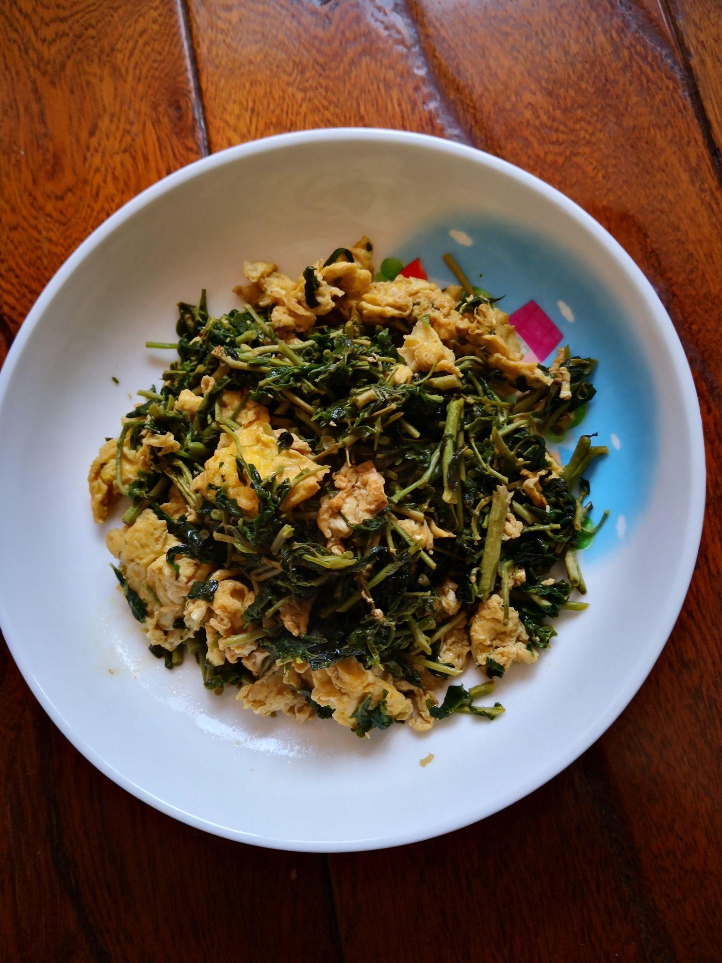 香椿芽炒鸡蛋怎么煮