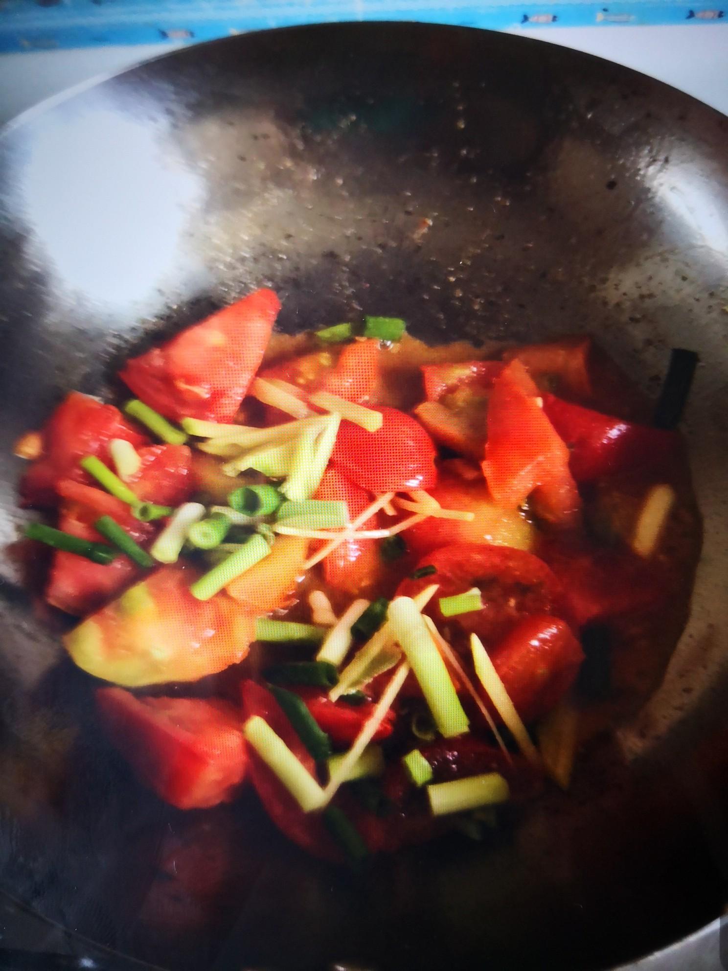 家常炒西红柿怎么做