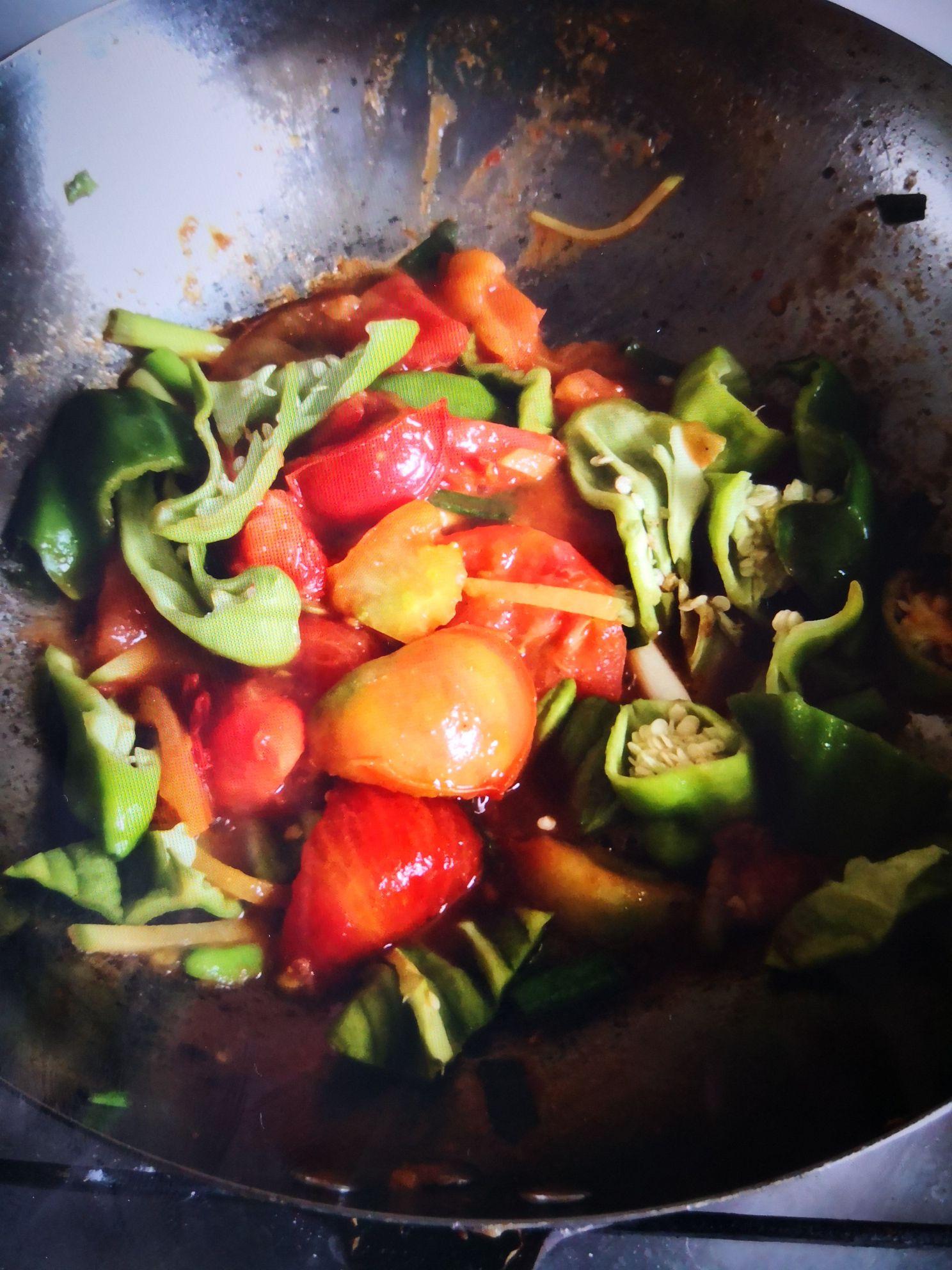 家常炒西红柿怎么炒
