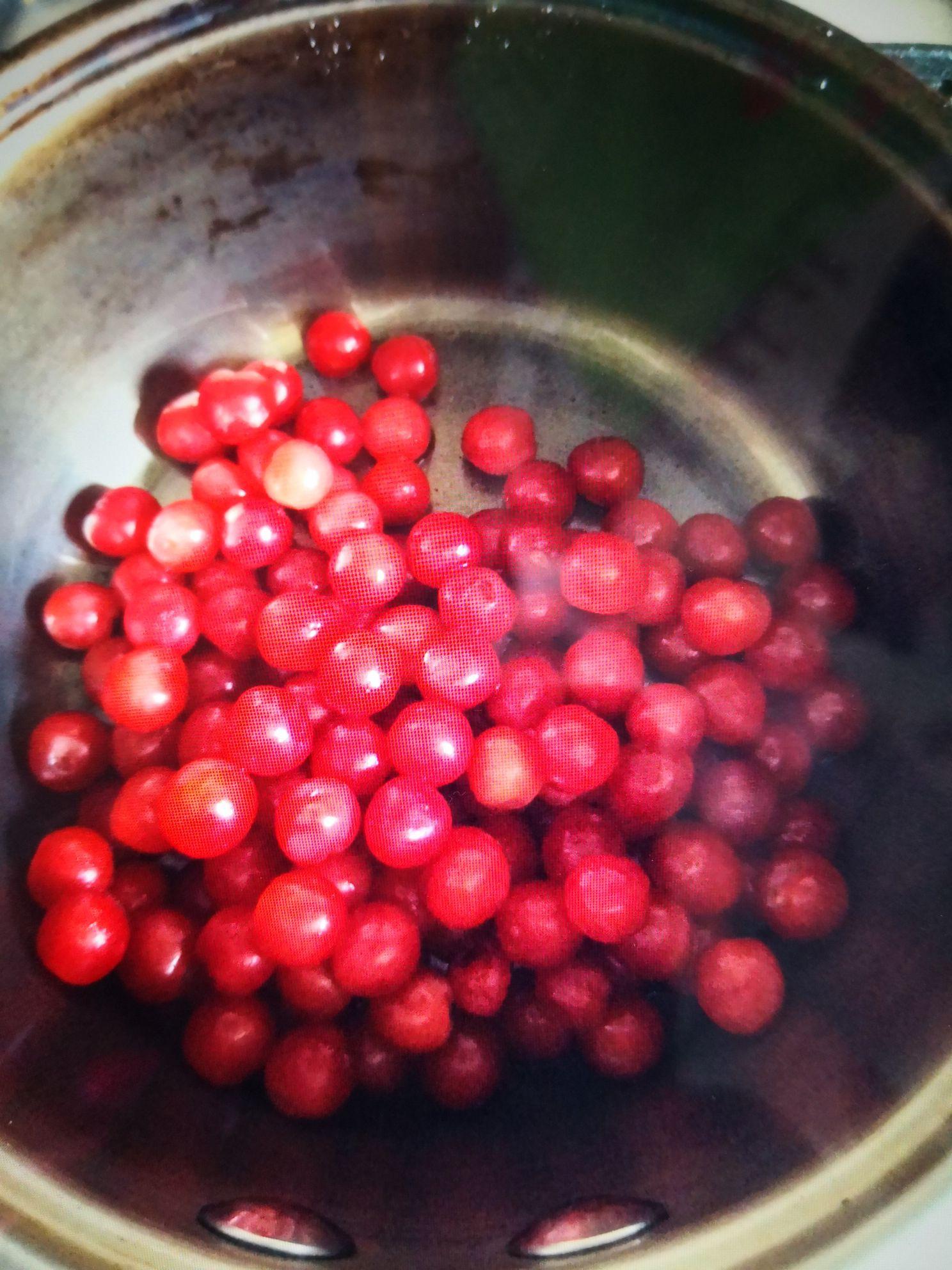 蓝莓樱桃果酱的做法图解