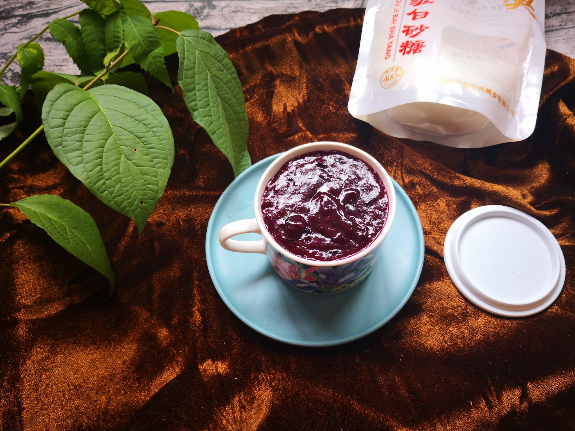 蓝莓樱桃果酱怎样做