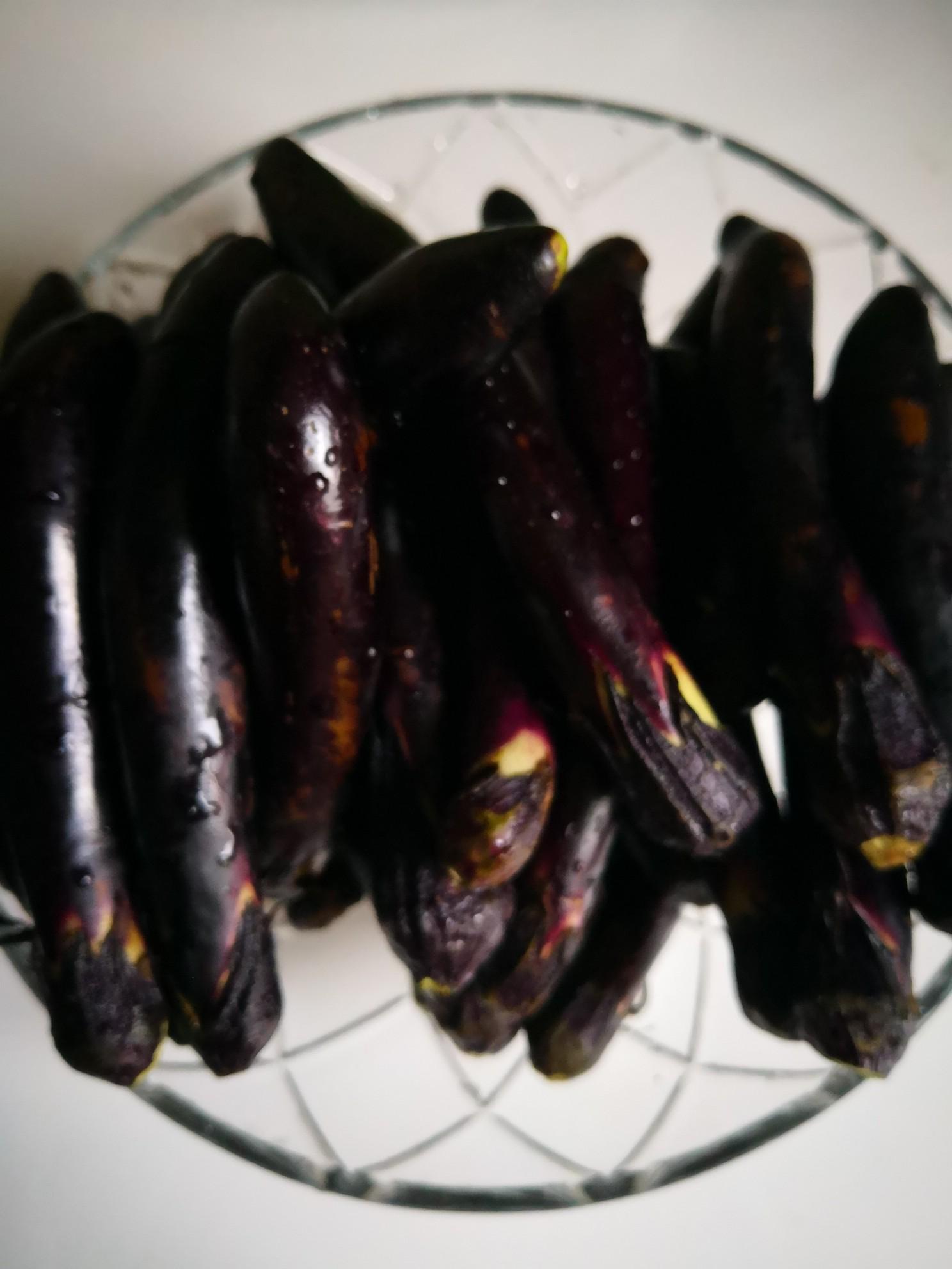 红烧茄子尖椒的做法图解