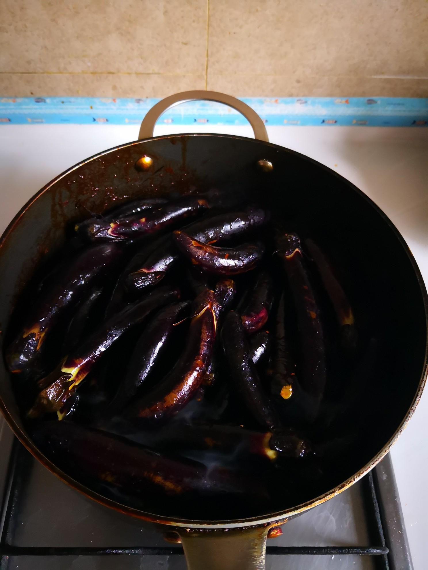 红烧茄子尖椒的简单做法