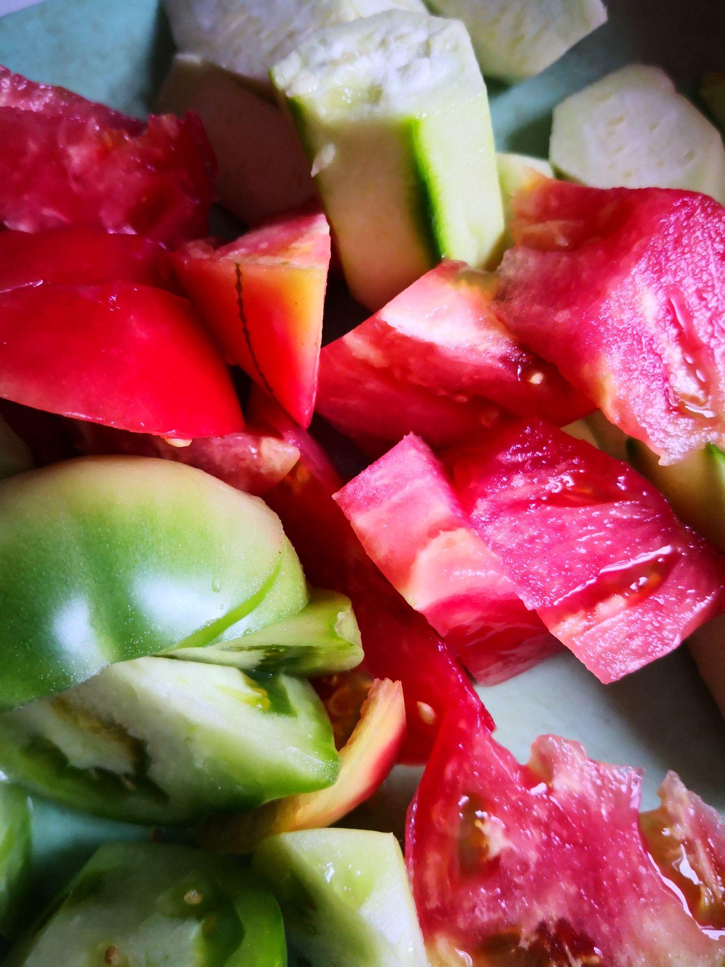 丝瓜炒番茄的做法大全