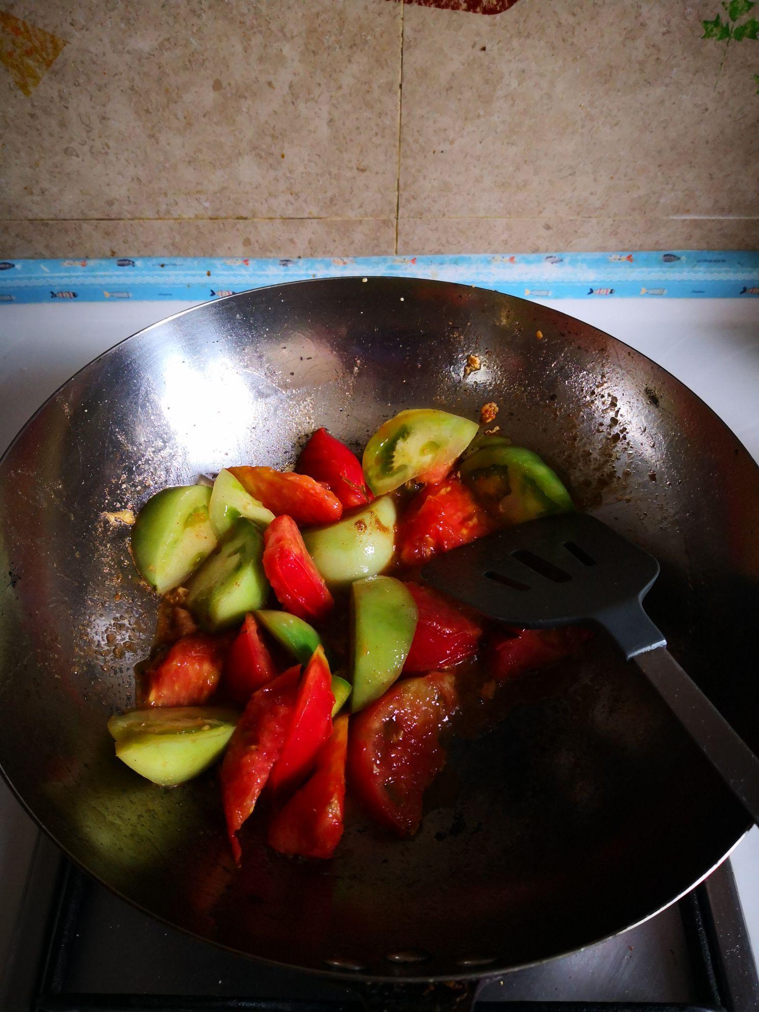 丝瓜炒番茄怎么吃