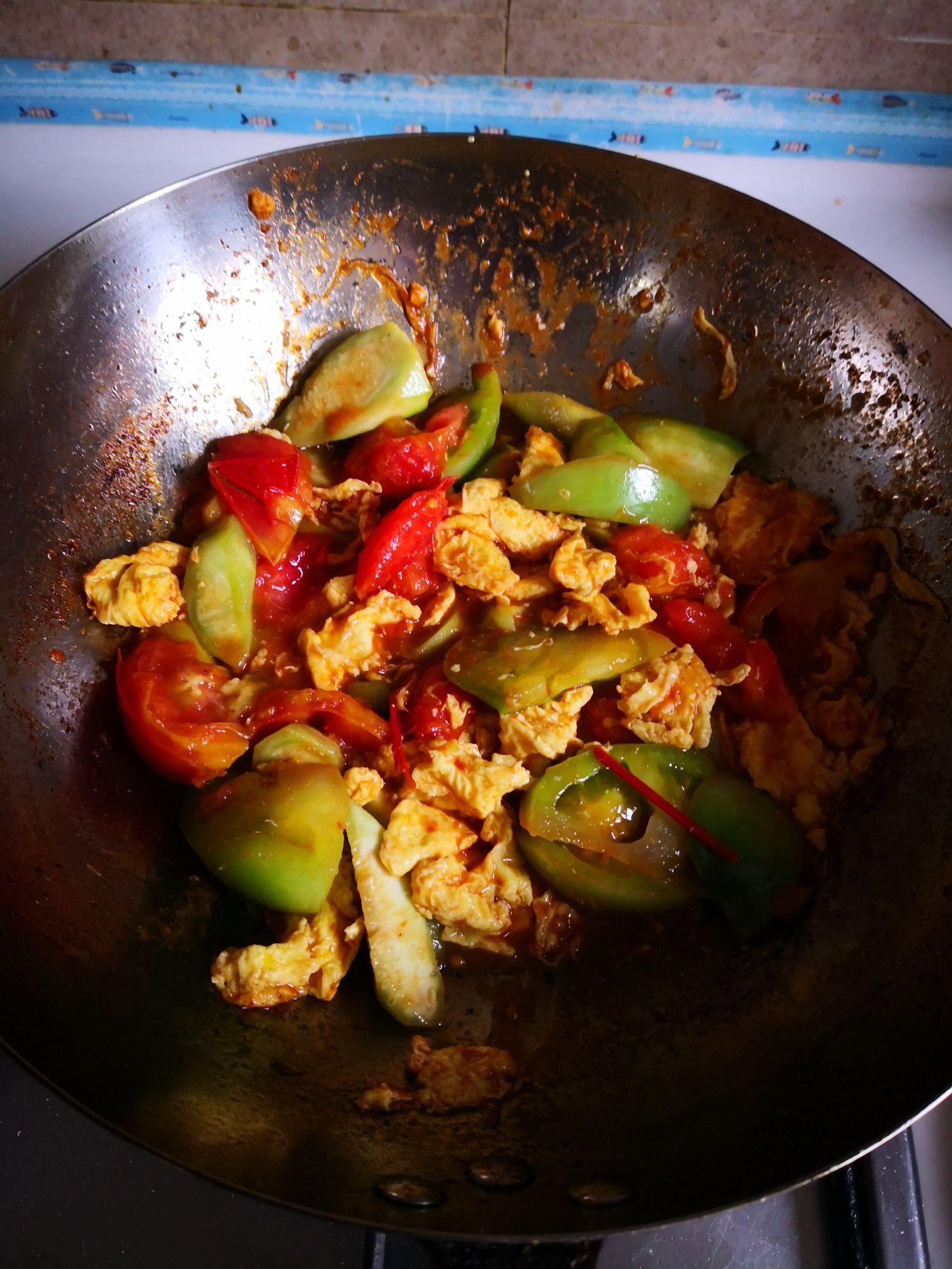 丝瓜炒番茄怎么煮