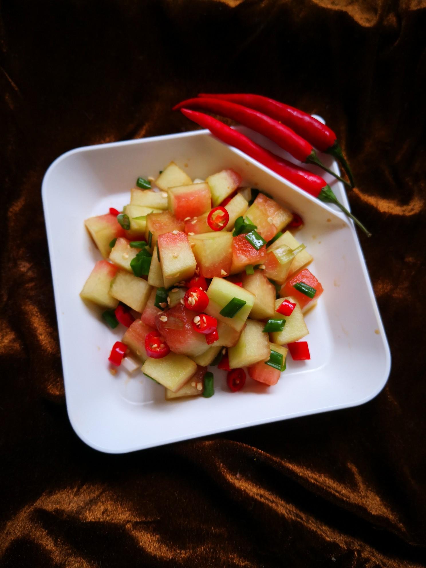 小米辣拌西瓜皮怎么煮