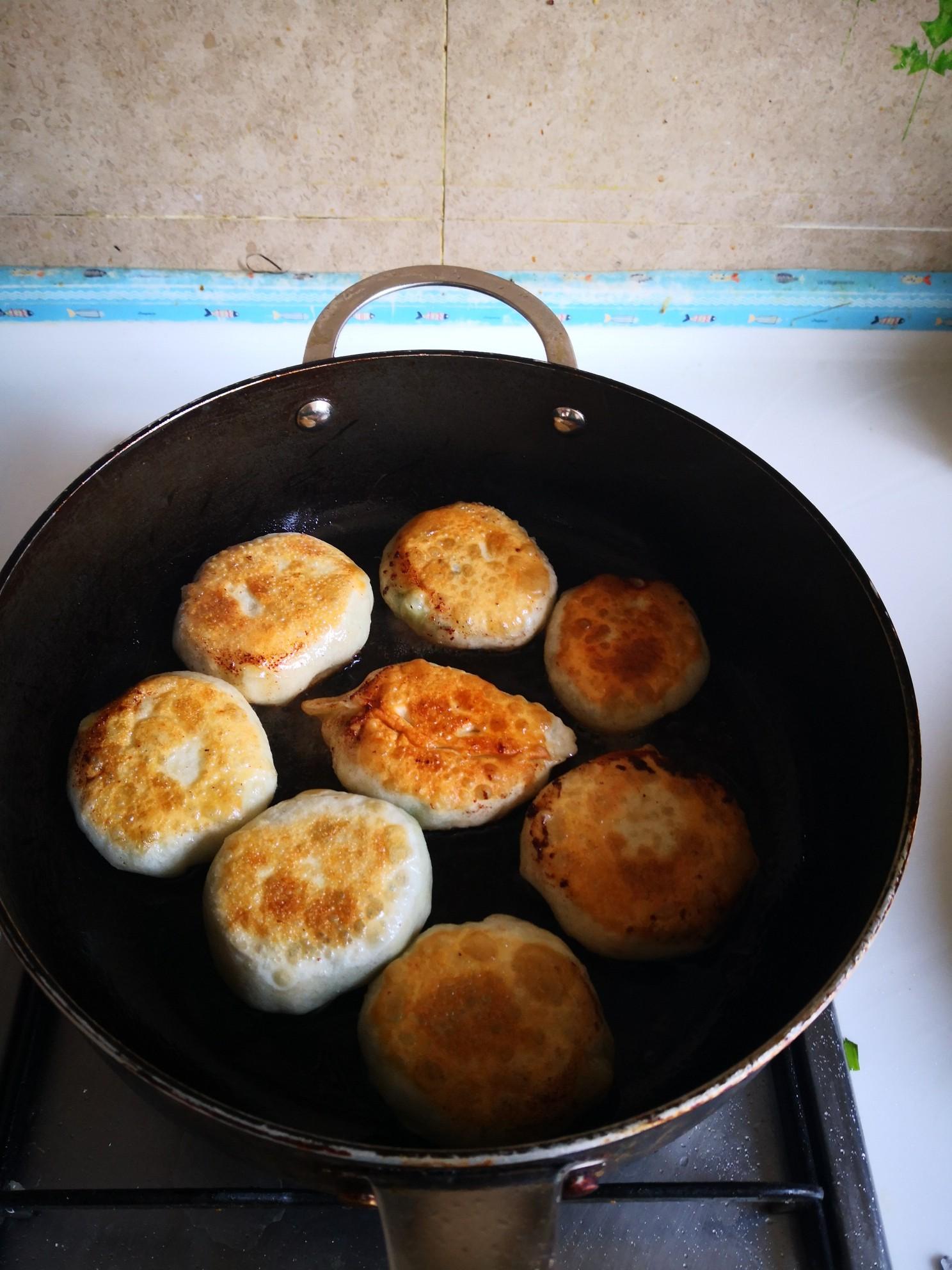 木耳鸡蛋馅饼怎么煮
