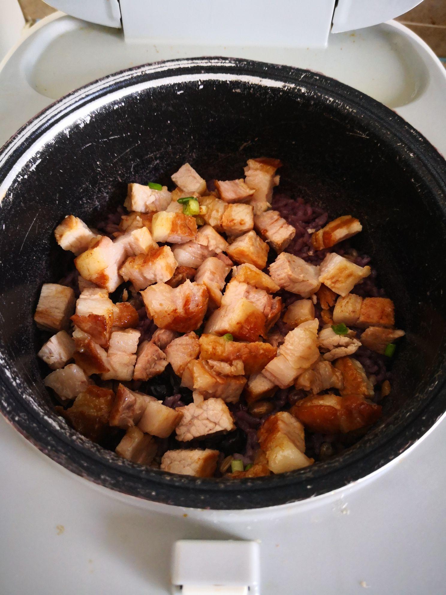 酱肉焖多谷米怎样炒