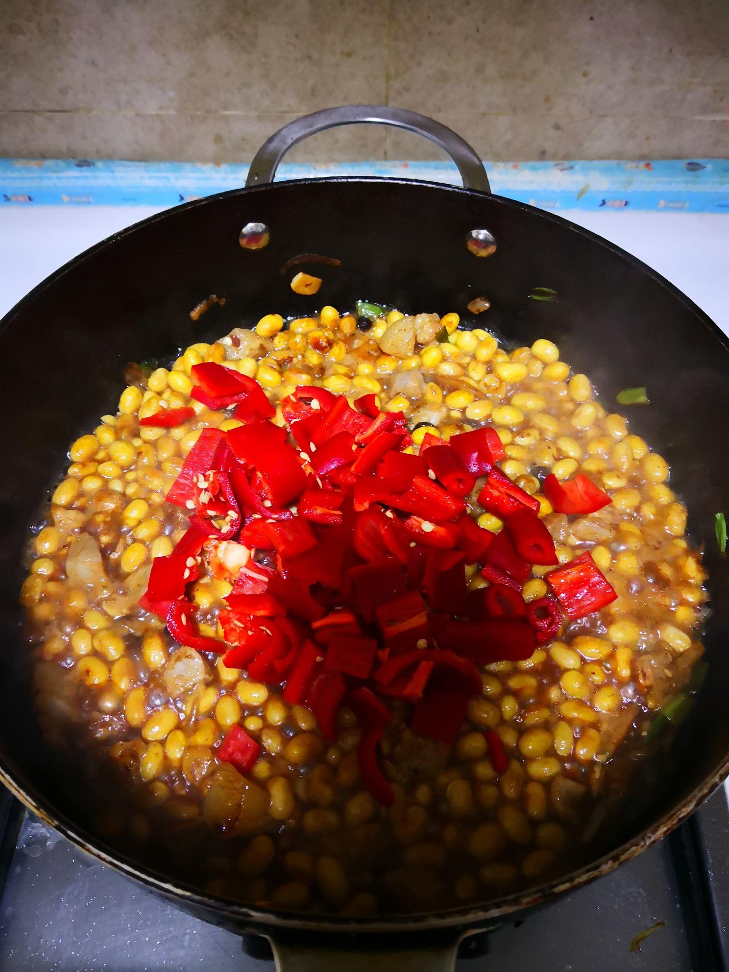 豆豉炒黄豆怎么煮