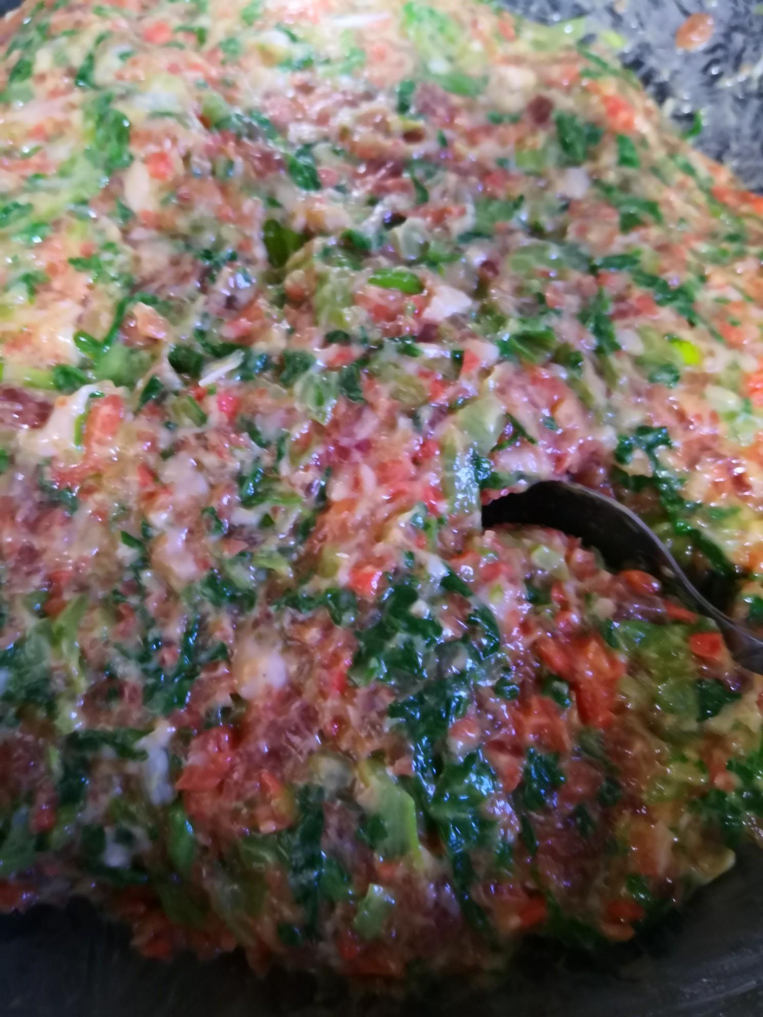 胡萝卜小白菜水饺的家常做法