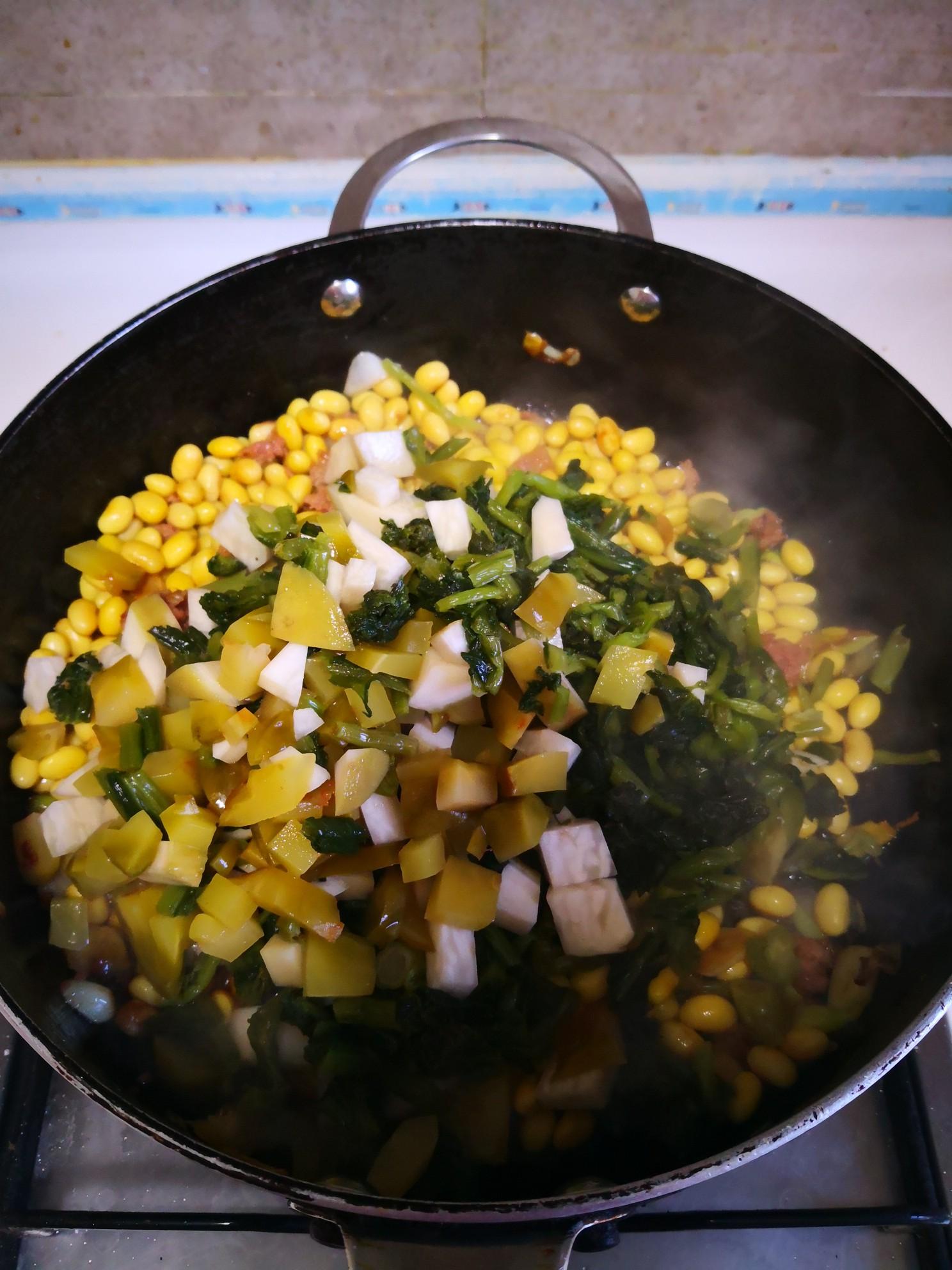 农家炒咸菜怎么煮