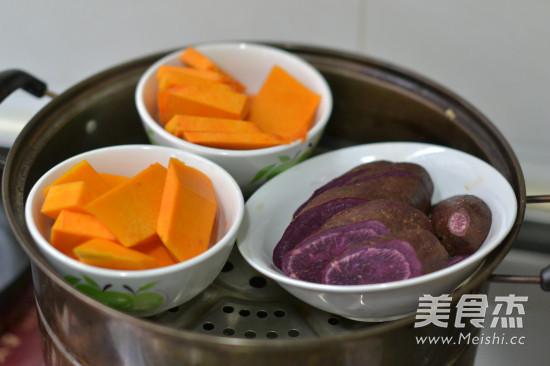 紫薯南瓜沙拉泥的做法大全