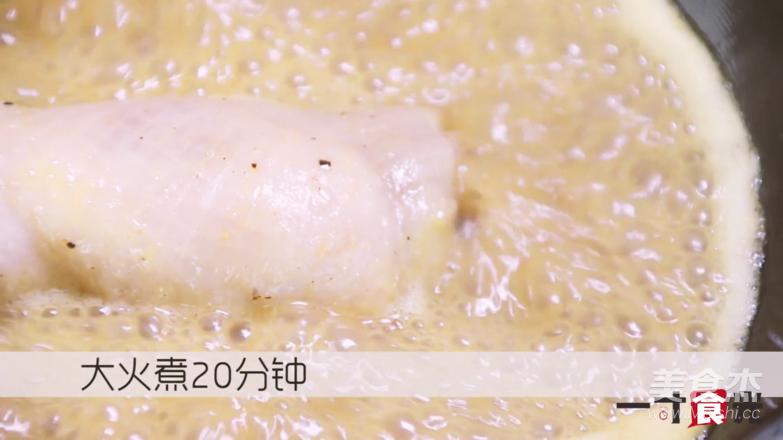 咖喱鸡肉卷怎么做