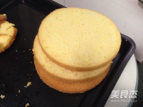 水果奶油生日蛋糕的做法大全