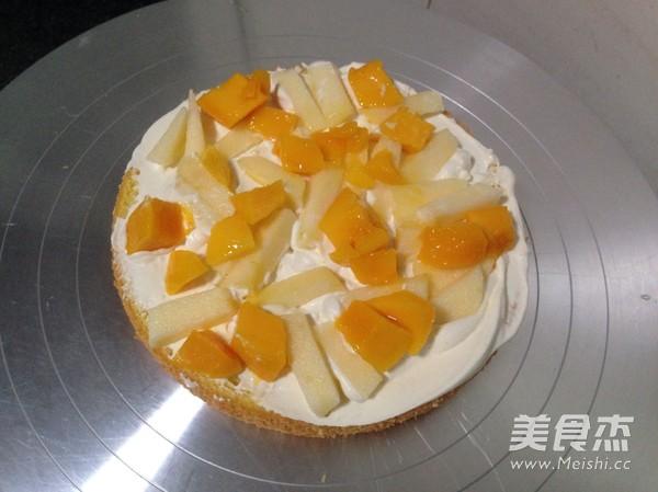 水果奶油生日蛋糕的简单做法