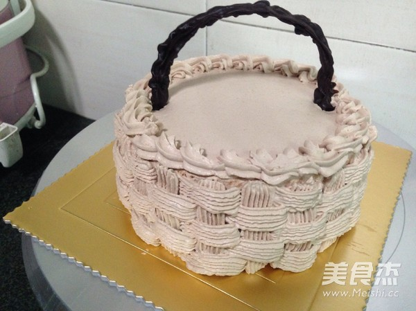 水果奶油生日蛋糕怎么炖