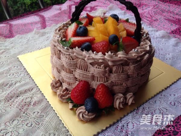 水果奶油生日蛋糕怎样做