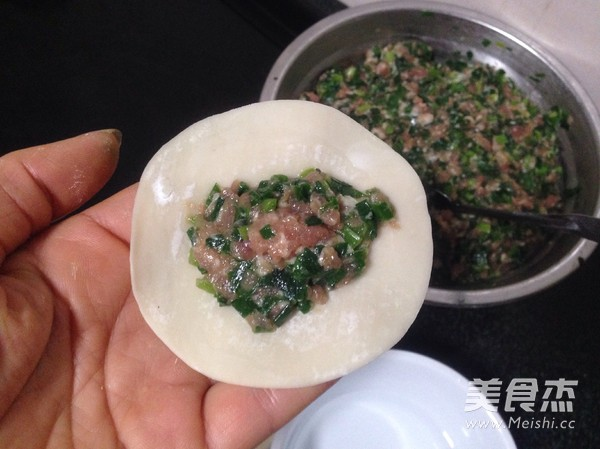 韭菜水饺怎么炖