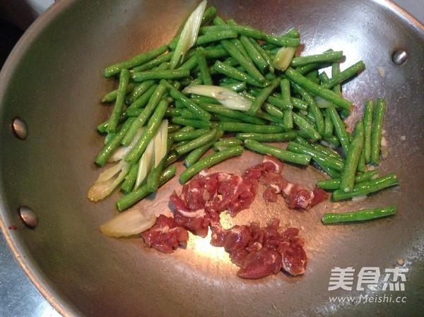 尖椒肉片豆角怎么做