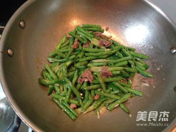 尖椒肉片豆角怎么煮