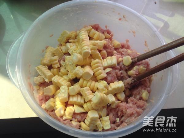 玉米蒸饺的做法图解