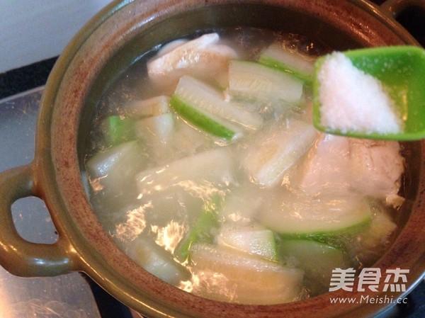 豆腐毛瓜肉片汤怎么做