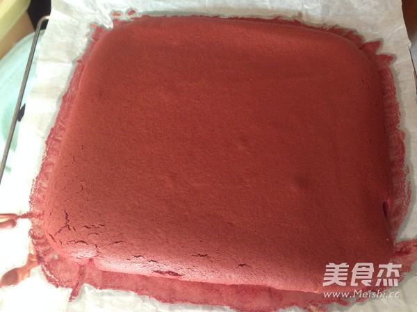 红丝绒蛋糕卷怎样做