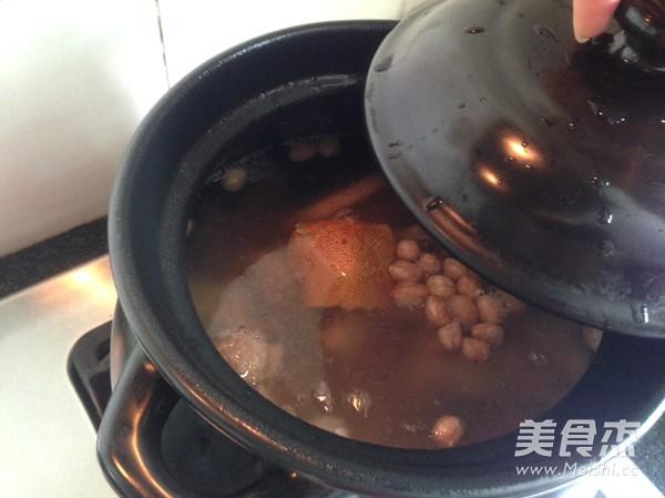 粉葛花生猪骨汤怎么煮