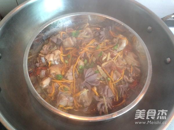 鲜虫草花蒸鸡怎么煮